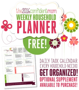Free Household Planner