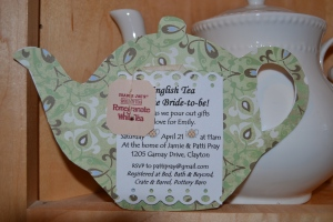 Tea Pot Invite